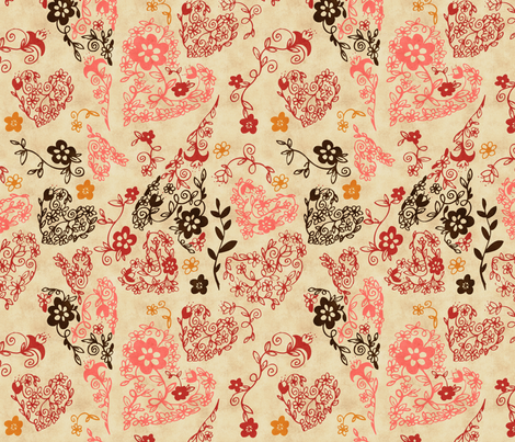 Love fabric by natalie on Spoonflower - custom fabric