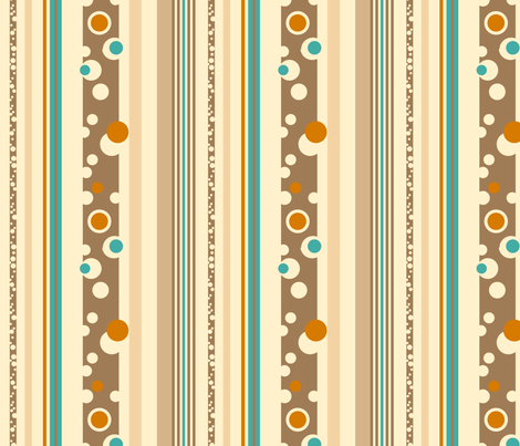 Beach Stripes fabric by twobloom on Spoonflower - custom fabric