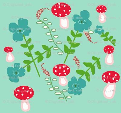 Teal Mushrooms