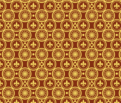 Henricus fabric by poetryqn on Spoonflower - custom fabric