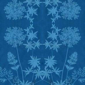 solar print flowers