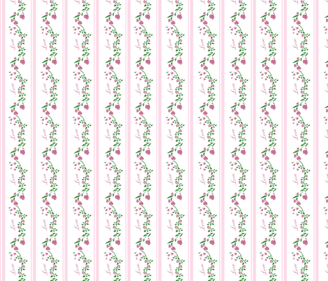 Love In Bloom fabric by heidikaether on Spoonflower - custom fabric