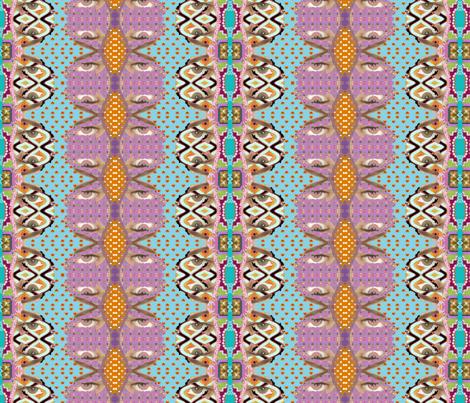 eyes fabric by snork on Spoonflower - custom fabric