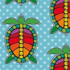 Turtles Aqua