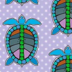Turtles Lavender