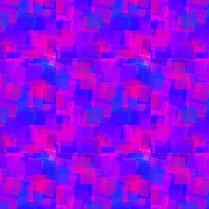 Blue and Pink Squares