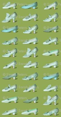 Wedding Shoes on Olive