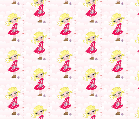 be mine fabric by hushaby&quirksdesigns on Spoonflower - custom fabric