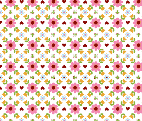 Retropattern -ch fabric by katharinahirsch on Spoonflower - custom fabric