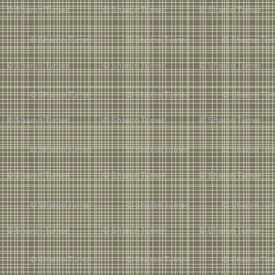 cream on brown grid