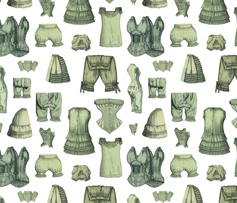 Underthings fabric by mouo on Spoonflower - custom fabric