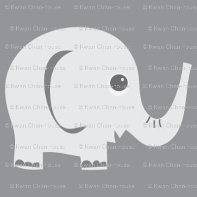 Ellie Fun Elephant Grey