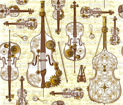 Steam Strings Gold