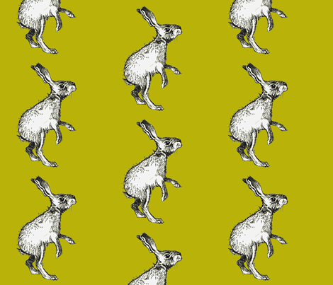 Hippity Hop fabric by taraput on Spoonflower - custom fabric