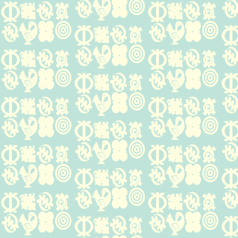 Adinkra Elegance-156 fabric by kkitwana on Spoonflower - custom fabric