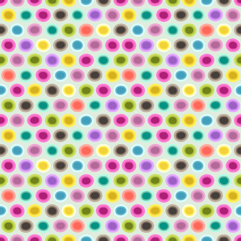 small candy gouttelette polka fabric by scrummy on Spoonflower - custom fabric