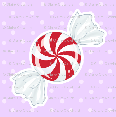 Red Peppermint on Lavender