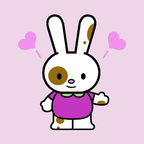 Love Bunny Purple