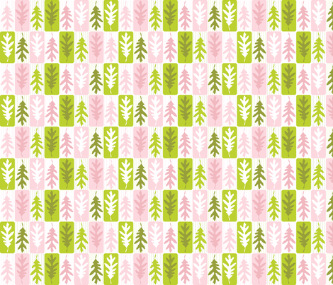 Leaf Repeat fabric by audreyclayton on Spoonflower - custom fabric