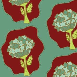 Hydrangea Florals Clay