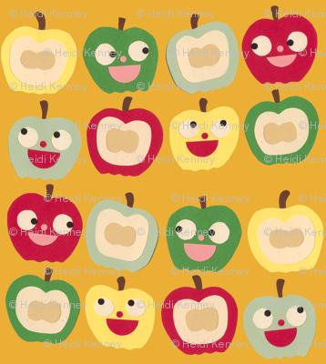 apples orange
