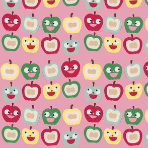 apples pink