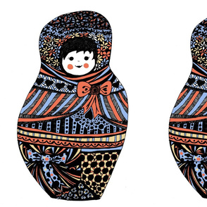 big babushka doll