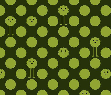 Rmonster_polkadot_invert_olive_shop_preview