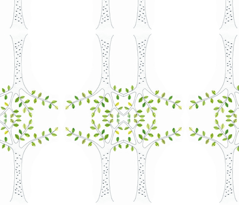 birch-ed fabric by syko on Spoonflower - custom fabric