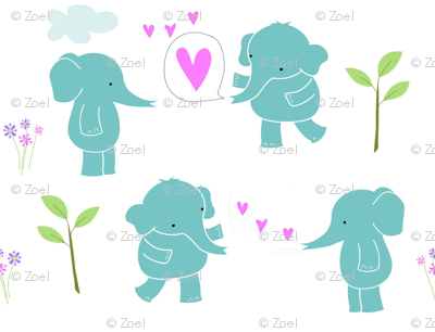 Sweetheart Elephants -ed