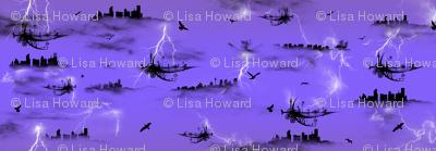 Lightning Flying Machine