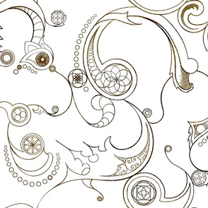 Steampunk Swirls