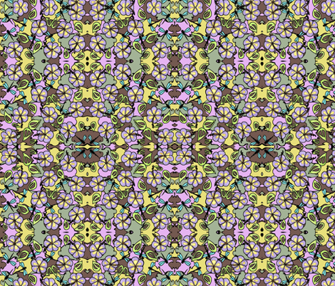 Island_Flower fabric by vickijenkinsart on Spoonflower - custom fabric