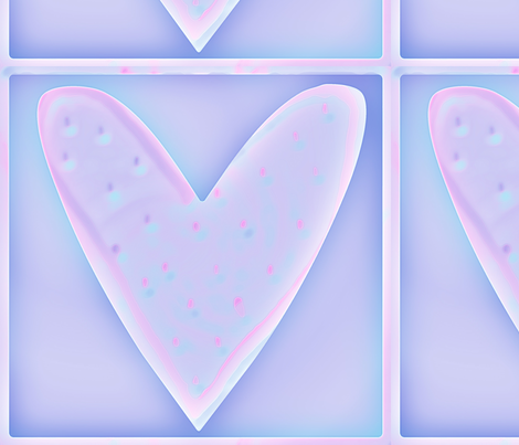 heart fabric by lissame73 on Spoonflower - custom fabric