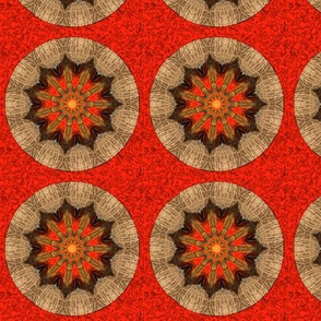 firey brown kaleidoscope