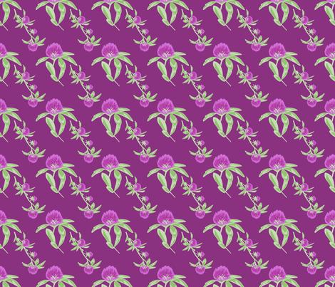 alfalfa flowers fabric by mytinystar on Spoonflower - custom fabric