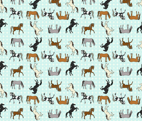 Ponies Please fabric by mytinystar on Spoonflower - custom fabric