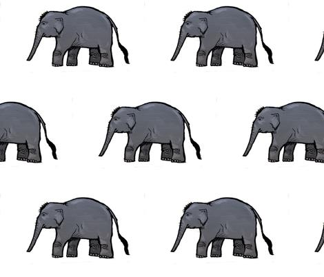 Elephant Parade fabric by taraput on Spoonflower - custom fabric