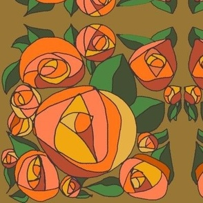 rose party orange