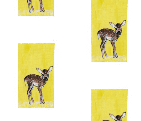 Little Fawn fabric by taraput on Spoonflower - custom fabric