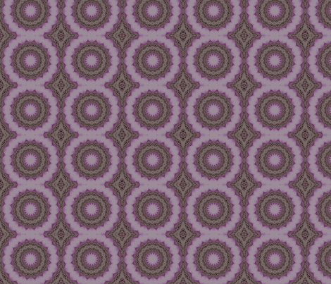 Purple Mosaic fabric by cksstudio80 on Spoonflower - custom fabric