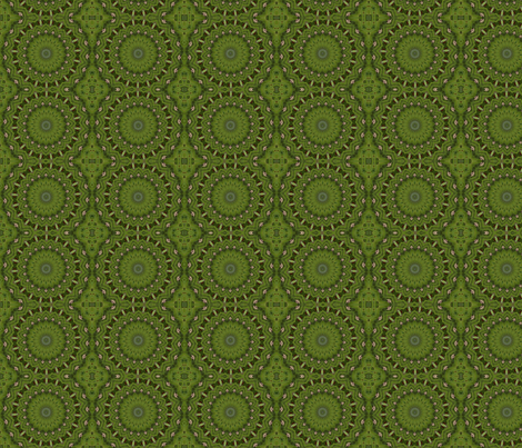 Mosaic Circles fabric by cksstudio80 on Spoonflower - custom fabric