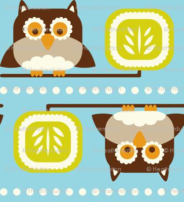 Owl Town Teal