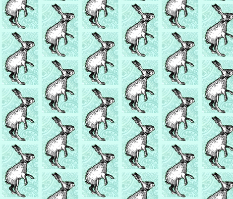 Paisley Bunny fabric by taraput on Spoonflower - custom fabric