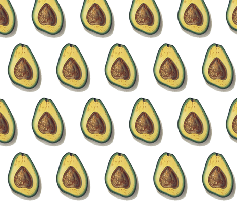 best avocado  fabric by saltlabs on Spoonflower - custom fabric