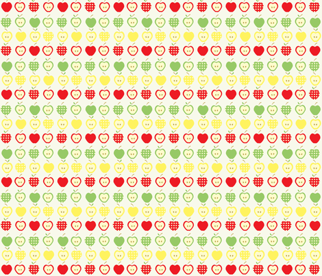 Apples Jack fabric by kiwicuties on Spoonflower - custom fabric