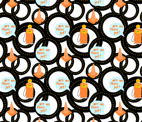 RoadTrippersFabric1 fabric by wildolive on Spoonflower - custom fabric