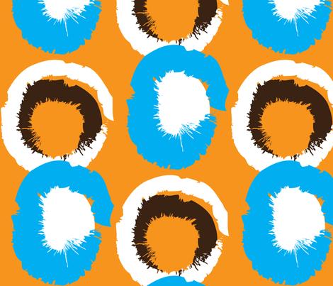 Eyesplosion fabric by dolphinandcondor on Spoonflower - custom fabric