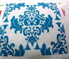 Delicious Damask in Blues