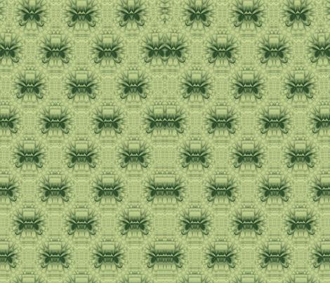 Lotus Kaleidoscope-- Green